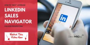 Best Leverage LinkedIn Sales Navigator
